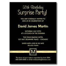 surprise 50th birthday party invitations templates free surprise