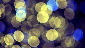 colorful defocused bokeh lights blinking on a