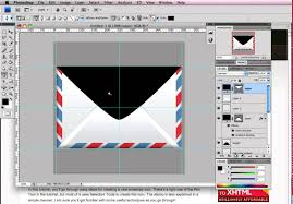 Where Does Stamp Go On Envelope How To Create An Envelope Icon In Photoshop Youtube
