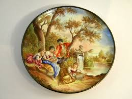 Gilt Bonze Enameled Portrait Ironmongery And Furnishings Enamel Austria Habsburg Lorraine The
