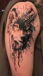 55 wolf designs and design