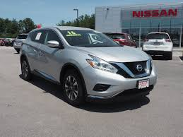 nissan murano aux port used 2016 nissan murano for sale in nh p3632 concord nissan