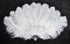 feather fan small layers ostrich feather fan 25 x 43 burlesque dancer