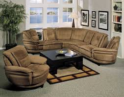 Camel Sectional Sofa Camel Fabric Sectional Sofa With Dark Brown Faux Leather Base