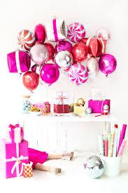 diy gift wrapping bar christmas balloon time party imanada bedroom