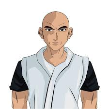 design hair game man boy anime comic design stock vector illustration of person