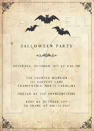 easy on the eye halloween party invitation ideas homemade