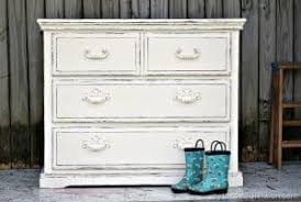 the best shabby chic dressers and distressed painted furniture