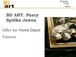 home design group spólka cywilna bd art pęscy spółka jawna offer for home depot canvas mouldings