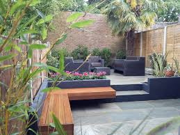 modern patio outdoor modern garden design london natural sandstone paving
