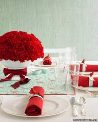 Valentine S Day Table Decorations by New Year U0027s Eve Table Decorations Martha Stewart
