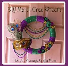 mardi gras bead wreath diy mardi gras wreath not your average crafty