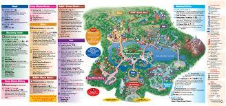 walt disney resort map park maps 2011 photo 1 of 4