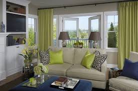Curtains For Rooms New Green Green Curtains Living Room Remodel With Helkk