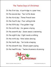 12 days of christmas coloring page 101 best 12 days of christmas images on pinterest holiday ideas