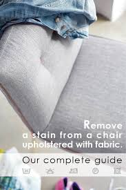 Remove Wax From Fabric Upholstery Hints And Tips For Cleaning A Chair In Fabric Mobitec