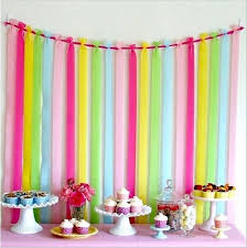 paper crepe streamers decorating with crepe streamers best 25 crepe paper streamers