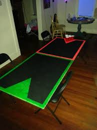 Beer Pong Table Size Beer Pong Table Ideas And How To Paint Cobalt Ss Network