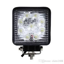 4 inch round led lights 4 inch 27w round led tractor lights led work light 27w off road