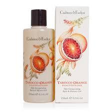 tarocco orange eucalyptus u0026 sage skin invigorating bath u0026 shower gel