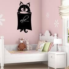 wallstickers folies cat chalkboard blackboard wall stickers cat chalkboard blackboard wall stickers