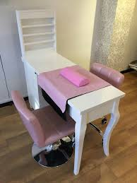 home nail salon decorating ideas nail station decor nail room