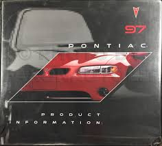 1997 pontiac grand prix repair shop manual original 2 volume set