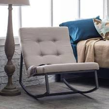 upholstered rocking chair ebay