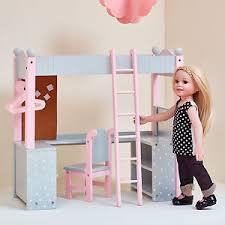 18 Inch Doll Bunk Bed Doll Bunk Bed American 18 Inch Dolls Furniture Desk Mattress