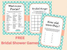 Wedding Shower Games Free Printable Bridal Shower Games Bridal Shower Ideas Themes