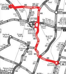 Bus Route Map London Bus Route W8