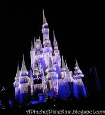 a pinch of pixie dust castle christmas lights