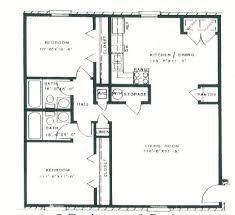two bedroom two bath floor plans arbor park floor plans