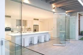 european designed frameless bi fold doors totally frameless