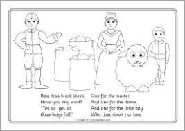 baa baa black sheep colouring sheets sb4240 sparklebox