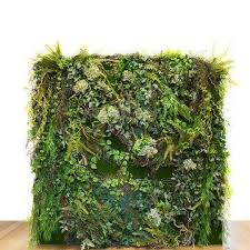 wedding backdrop melbourne backdrop 190cm silk leaves fronds foliage wall garden wedding melbourn