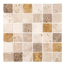 jeffrey court ti metallic 12 in x 12 in x 8 mm glass mosaic tile