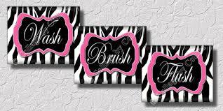 zebra print bathroom wall decor 2016 bathroom ideas u0026 designs