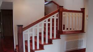 inside railings pictures installing interior stair railing