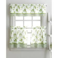 Kitchen Curtains August Grove Cherelle Herb Graden Kitchen Curtains Wayfair