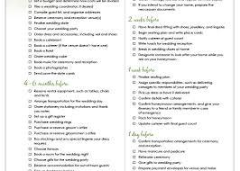 Simple Wedding Planning Printable Wedding Checklist Printable Wedding Checklist 12