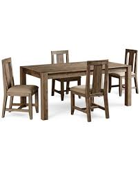 5 Piece Dining Room Sets by Canyon 5 Piece Dining Set Created For Macy U0027s 72