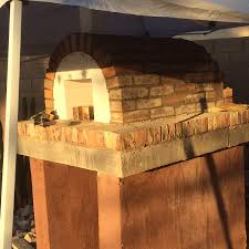 Outdoor Pizza Oven Carver Wood Fired Outdoor Brick Pizza Oven In Arizona