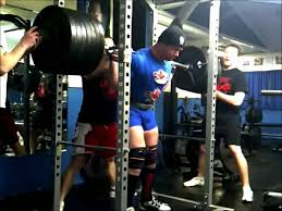 Mike Macdonald Bench Press Mike Macdonald Squats 105kg Ipf Lifter Youtube