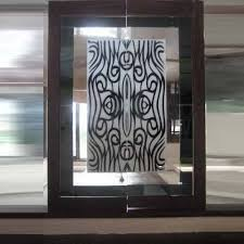 Etched Glass Designs For Kitchen Cabinets Interior Glasses Glass Partitions Manufacturer From Noida