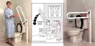 Bathroom Rails Grab Rails Grab Bar Specialists P T Rail Floor Mast Only 400 Lbs Flip