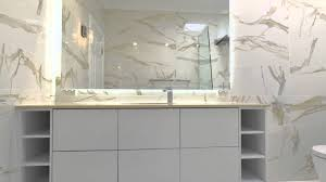 marble tile bathroom renovation in perth wa youtube