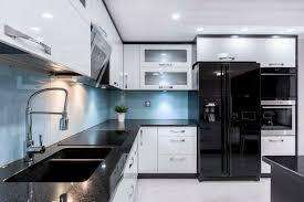 contemporary black kitchen cabinets 40 sleek black kitchen ideas and cabinets 2021 photos
