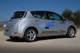 nissan leaf driving range nissan sets 2020 as target for range of autonomous vehicles