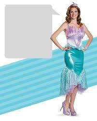 Ariel Mermaid Halloween Costume Adults Disney Mermaid Costumes Buycostumes